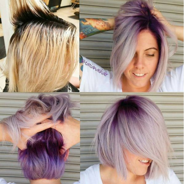 How-To: Purple Pastel Shadow Root