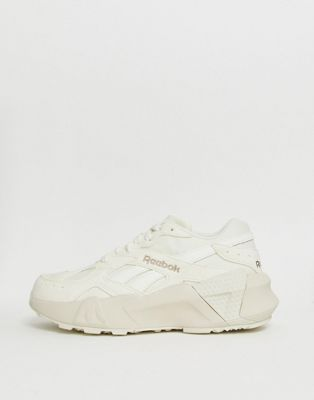 1aaaa55d74b Reebok Aztrek double sneakers in chalk in 2019