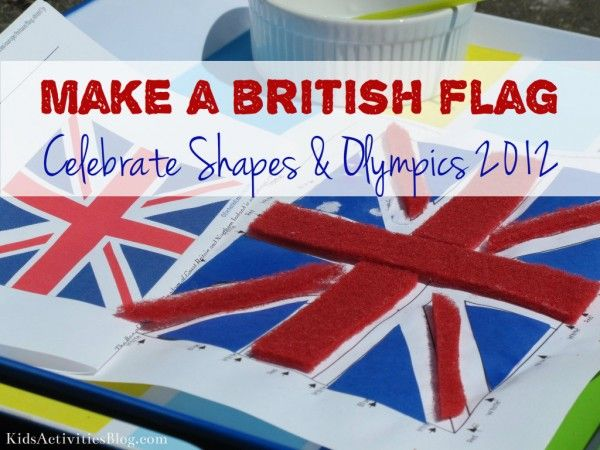 Olympics 2012: Create a British Flag: Flags Ideas, Activities Blog, Printable Maps, Kid Activities, British Flags, Kids Activities, Kids Create, Teaching Kids, Blue Triangles