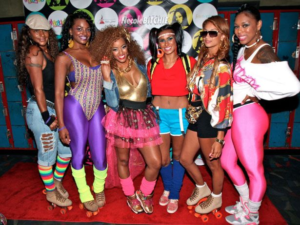 We Really Hope This '80s Roller Skating Party Is Featured On Basketball Wives LA | Reality TV +  Gossip | VH1 Blog