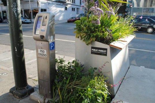San Francisco's Parklets Transform Parking Spaces Into Urban Oases
