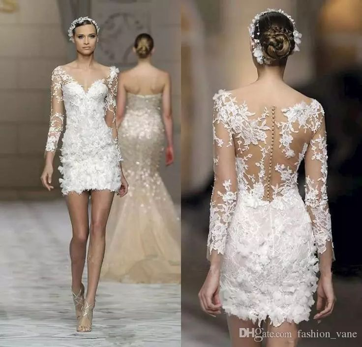 Wholesale wedding dress designer, wedding dresses nyc and wedding dresses under 500 on DHgate.com are fashion and cheap. The well-made 2016 new style 3d-floral appliques wedding dresses long sleeves v neck sheer illusion mini short vintage wedding gowns sold by fashion_vane is waiting for your attention.