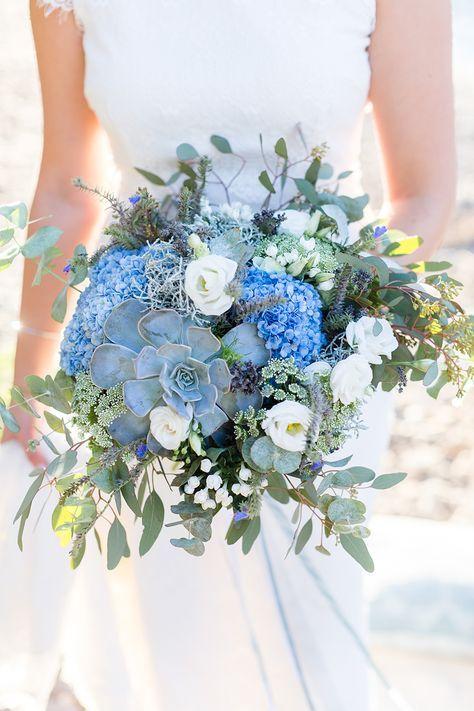 Die besten 25 Brautstrau blau Ideen auf Pinterest