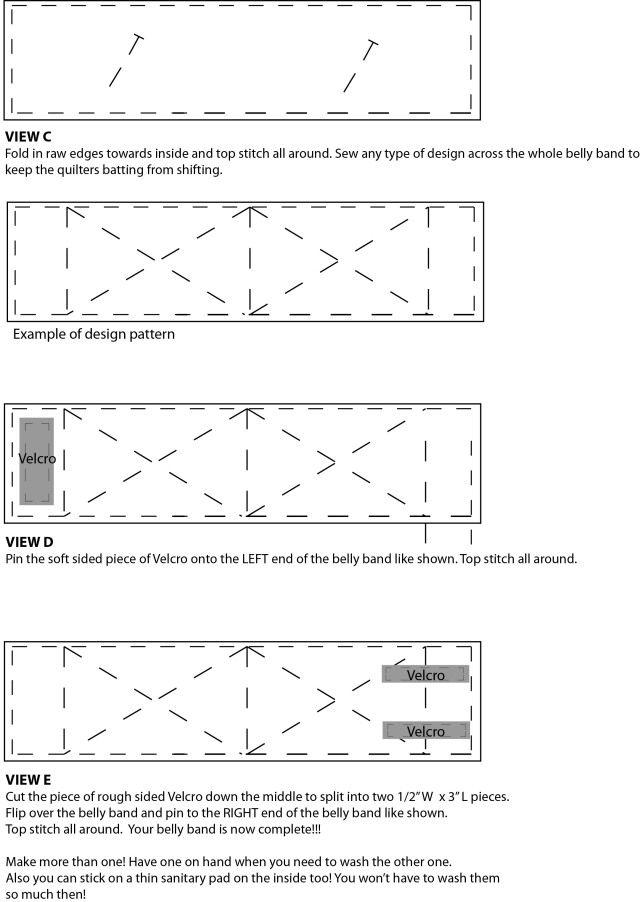 Male Dog Belly Band Pattern | Free Sewing Pattern! | mackerilladesign