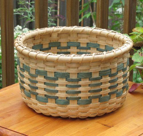 Craftsman #Basket - Light Green by #LilyandReed #artfire