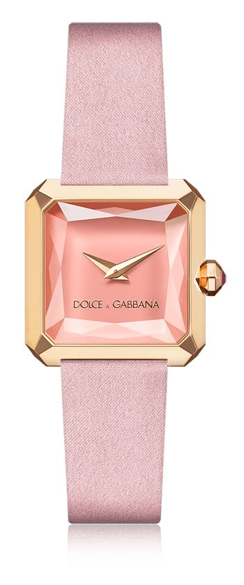 Pink women's watch with rubies - Dolce & Gabbana | Dolce & Gabbana Watches for Men and Women