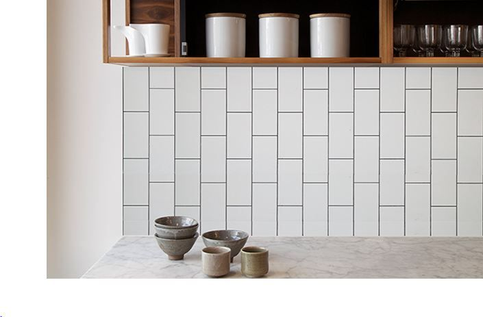 Grout colour can add to your look! Try a contrast colour like this gunmetal tone