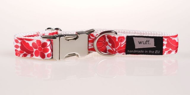 Hungarian Classic Dog Collar -  Style, elegance, refinement and tradition. The Hungarian Classic is one of our most beautiful patterns. http://www.wuffcollars.com/en/item/Hungarian_Classic_Collar-105 Item Code: 105