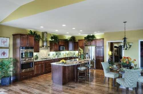 Love the color of the hardwood floors schumacherhomes for A e custom homes