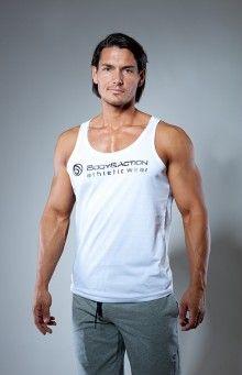 Férfi kereknyakú bő trikó