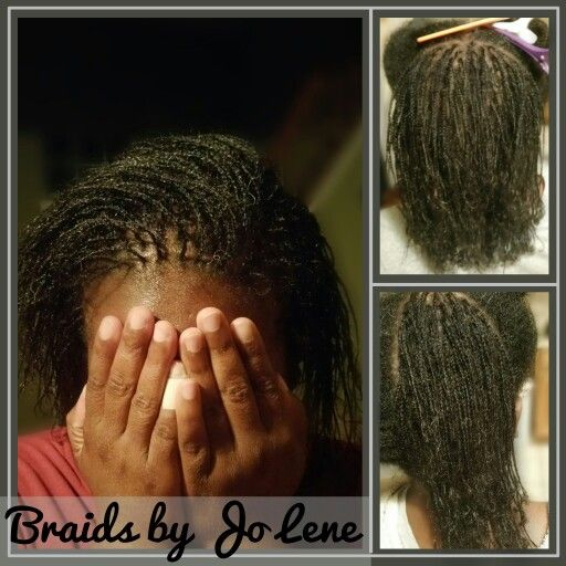 Starter Micro Locs Jo Lene Gentle Braids Amp Natural Hair