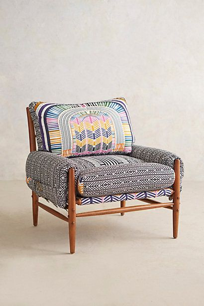 Talk about a gorgeous chair! | Mara Hoffman for Anthropologie