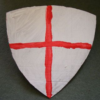 St Georges Cross / Crusader shield - St Georges Day