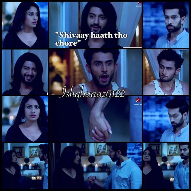this scene was hilarious and cute loved it ❤️❤️ @kunaljaisingh @nakuulmehta @officialsurbhic #ishqbaaaz #kunaljaisingh @leenesh_mattoo #leeneshmattoo #rudrasinghoberoi #shivaaysinghoberoi #starplus #tellywood #bollywood #shivika #anshi #annika #surbhichanda #chandu #officialsurbhic #bestactors #funny #bestshow