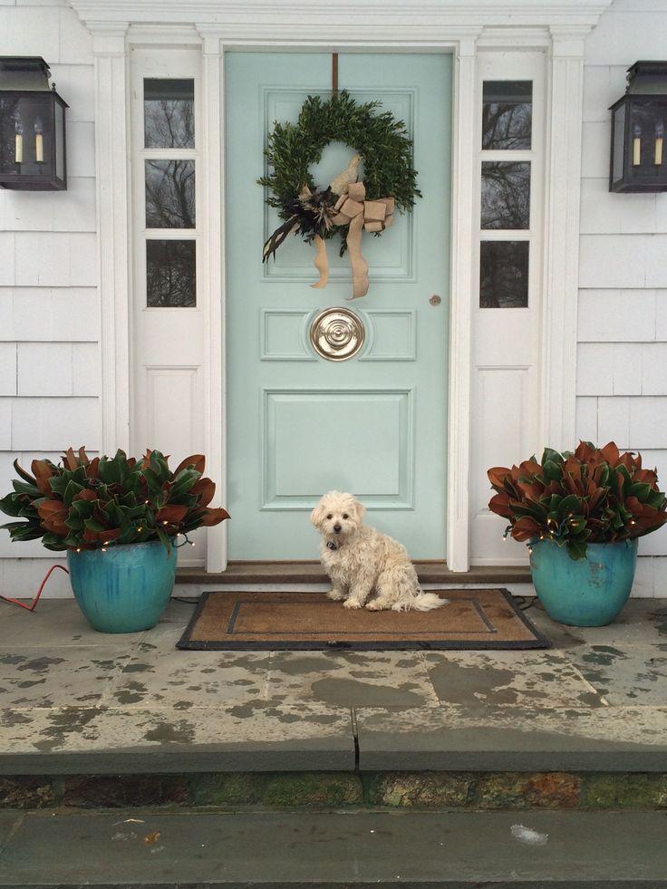 Heather Holden Teal Front Doors Front Door Colors