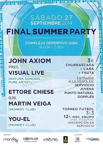 Final Summer Party en Oira, Ourense