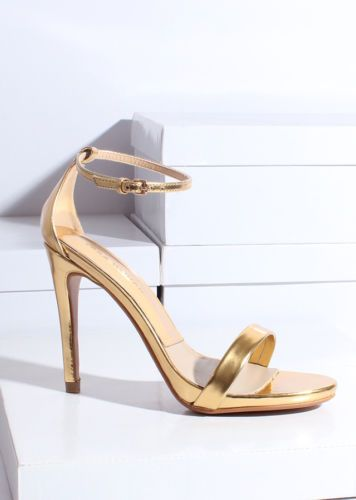 1000  ideas about Metallic High Heels on Pinterest | Fashion shoes ...