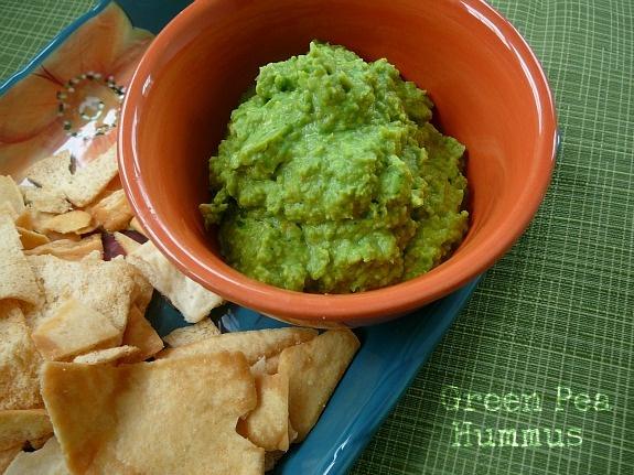 green pea hummus