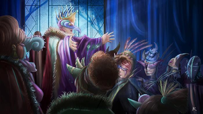 """""""Pero el príncipe Próspero era feliz, intrépido y sagaz. Cuando sus dominios quedaron semidespoblados llamó a su lado a mil caballeros y damas de su corte, y se retiró con ellos al seguro encierro de una de sus abadías fortificadas."""" E.A.Poe"""