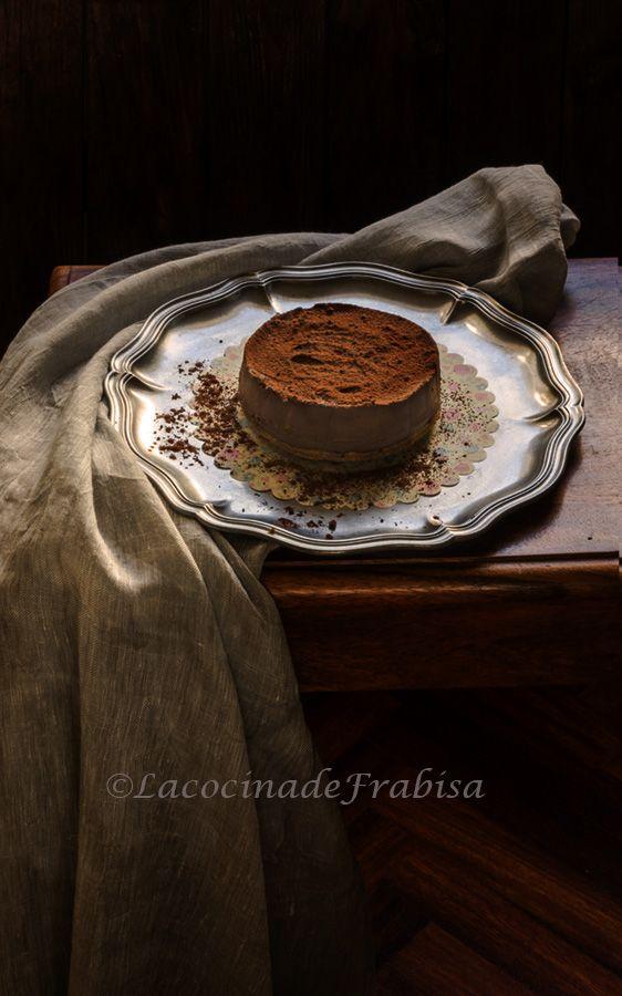 Tarta de puro chocolate SIN HORNO. Fácil y rápida. - La Cocina de Frabisa La Cocina de Frabisa
