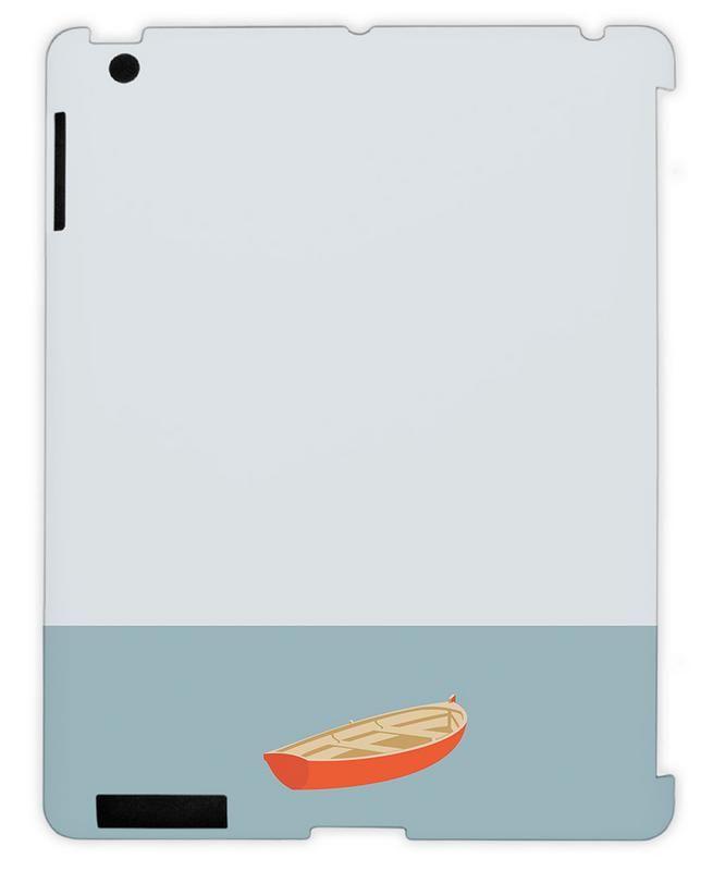 Ocaen Svømmere Boat as iPad Case