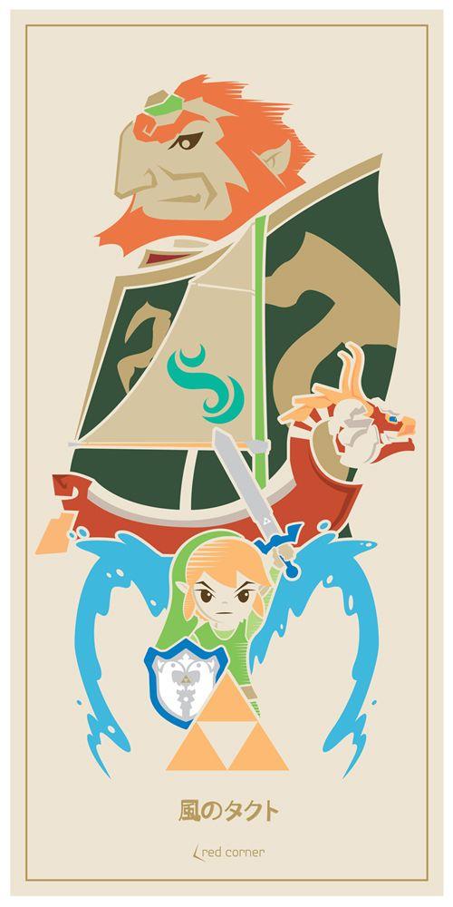 Legend Of Zelda Wind Waker Poster Top 25 ideas about Win...