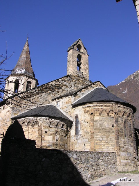 iglesia de Unha, Lerida…