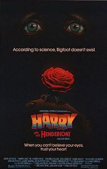 Harry and the Hendersons - Wikipedia, the free encyclopedia  Amblin Entertainment.... 1987