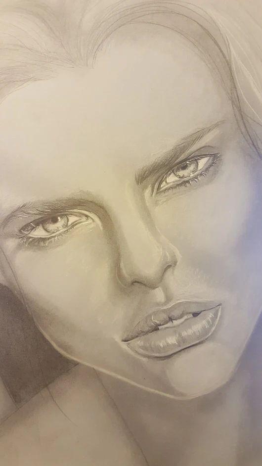 #drawing #diseño #disegno  #ritratto #portrait #wip