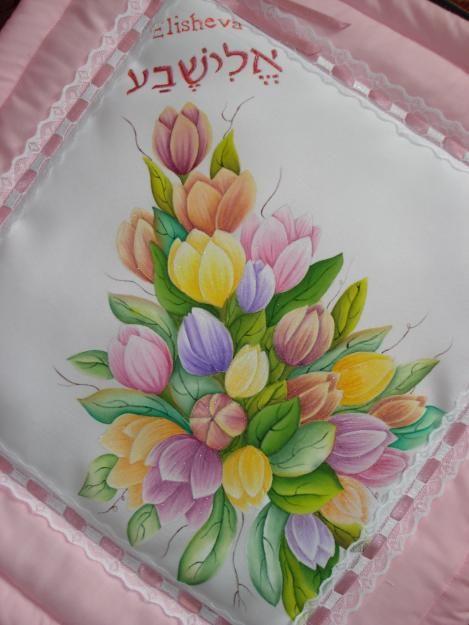 PINTURA EN TELA - San Juan de Pasto - Hogar - Jardín - Muebles - Esmeralda - cojines pintados a mano navideños
