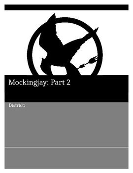 A lot of the students have seen Mockingjay Part 1, the movie. Now engage them with the second part of the novel based on what they already know. Questions & activities for the remaining chapters. The last few chapters are summarizing main points as some students lose interest after all the excitement has happened.