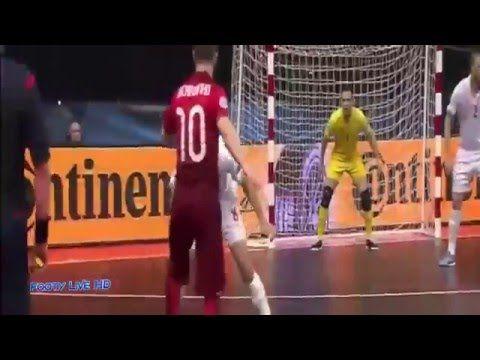 Ricardinho Amazing Futsal Goal vs Serbia UEFA Futsal Euro 2016