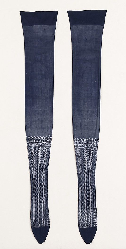 Stockings, circa 1880-90