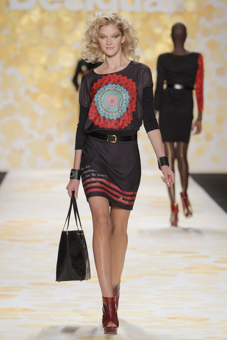 You will always fits perfect on Desigual clothes! #NYFW It's made for you!