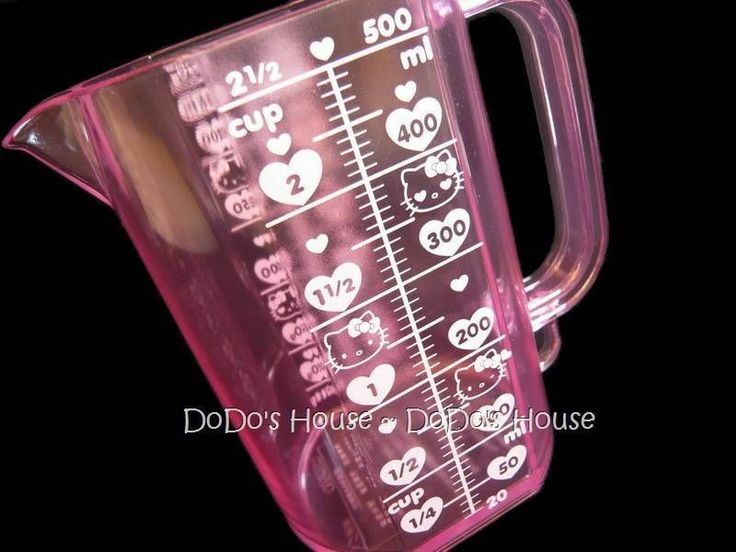 Sanrio Japan Hello Kitty Kitchen Cooking Measuring Cup | eBay
