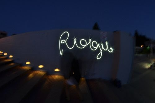 Rogu light painting test