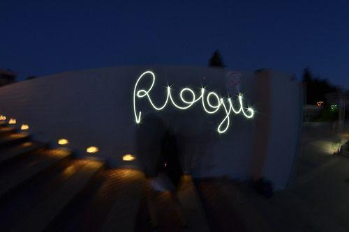 Rogu light painting test