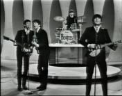 The Beatles on the Ed Sullivan Show - 1964.