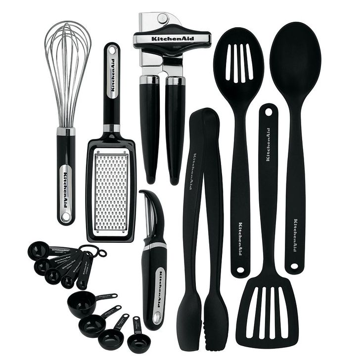 KitchenAid 17-pc. Gadget Set, Black