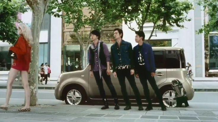 "Arashi, Nissan Cube ""Always4"" commercial"