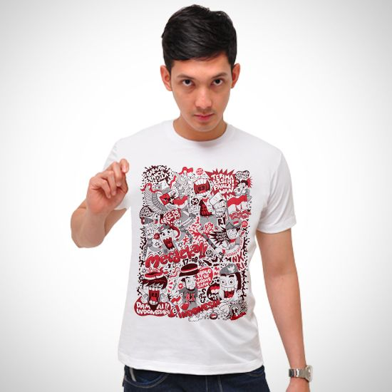 Love Indonesia dari tees.co.id Oleh cycy custom clothing