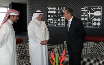 Bahrain News Agency   Duke of Westminster Gerald Cavendish Grosvenor Visits BIC