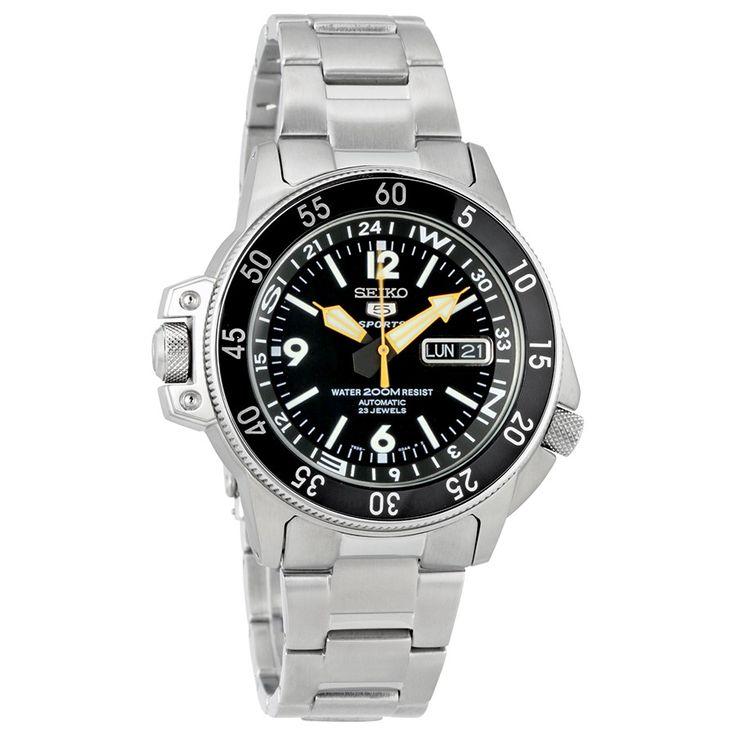 20 best ideas about next watches stainless steel seiko 5 sport land shark black dial stainless steel men s watch next watches