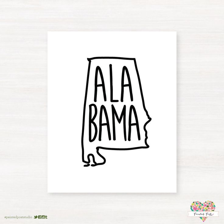 Best States Art Images On Pinterest Alabama Alabama Tattoos - State stereotypes alabama