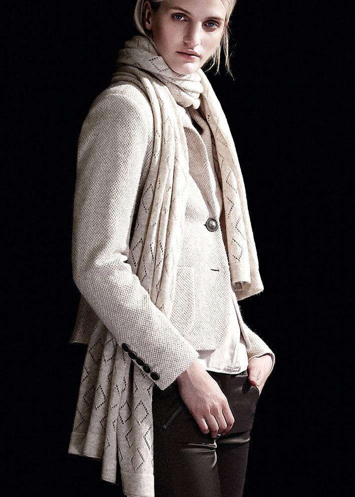 Gustav Blazer lys sand 20203 Blazer - 9184 antique white – Acorns