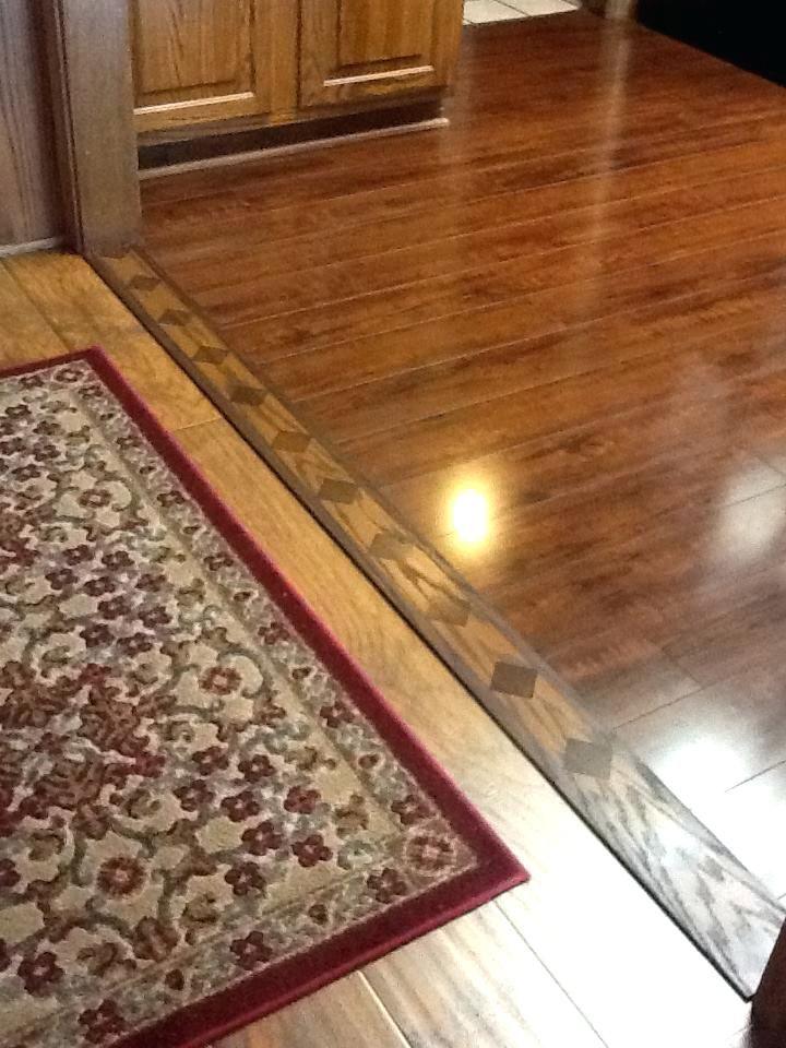 flooring pieces tile to hardwood