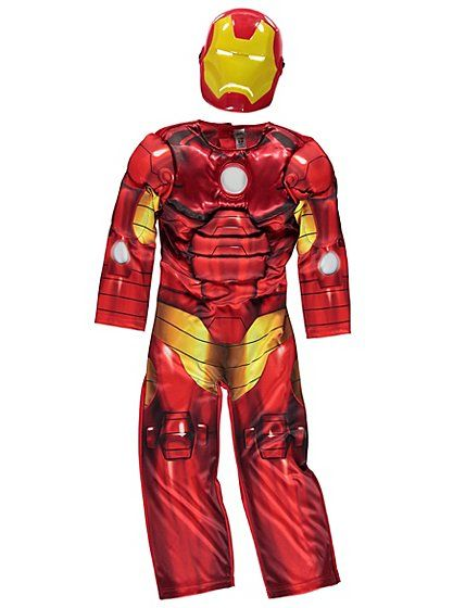 Marvel Avengers Iron Man Light-up Fancy Dress Costume, read reviews and buy online at George at ASDA. Shop from our latest range in Kids. If you need a cool ...