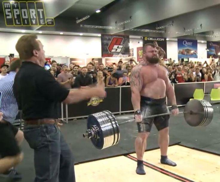 Eddie Halls Deadlift World Record 462kg