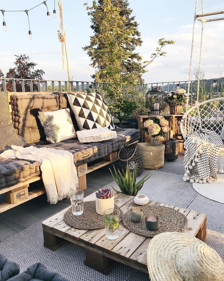 Urlaub auf Balkonien – Destination Outdoor-Oase! Zu Hause ist es am schönsten. …