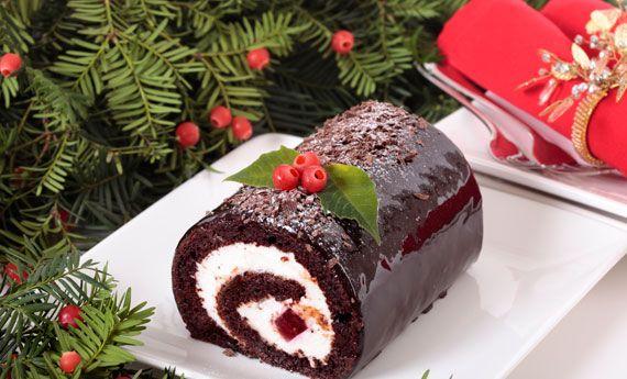 Tronchetto di Natale senza glutine